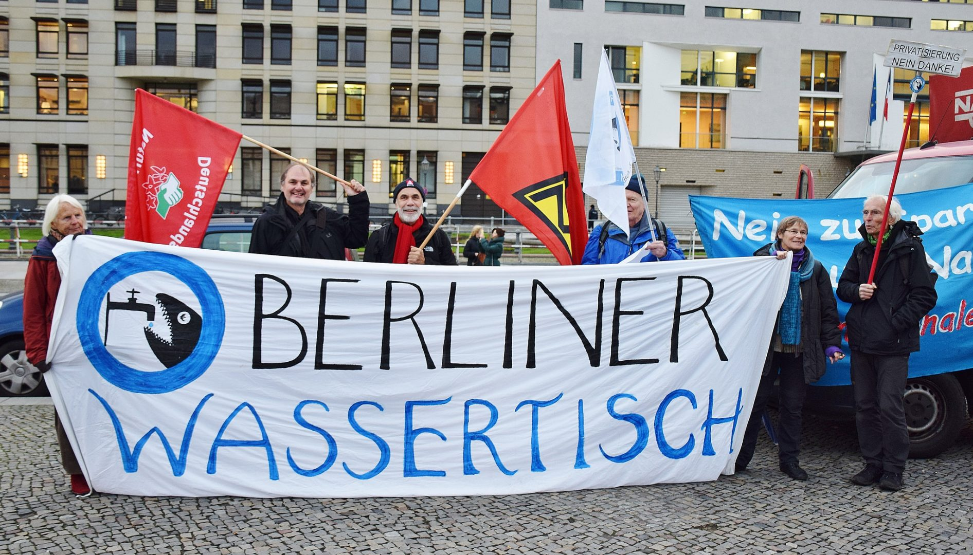 Berlin, Germany: Berliners defy government and win water remunicipalisation