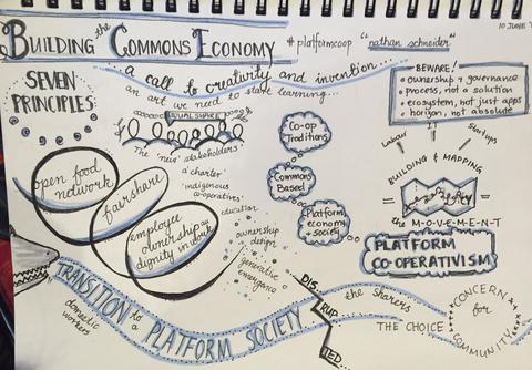 A great overview of 'Building the Commons Economy' by @PaulaSgherza