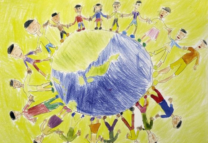 Why share the planet's resources? Let the children explain…