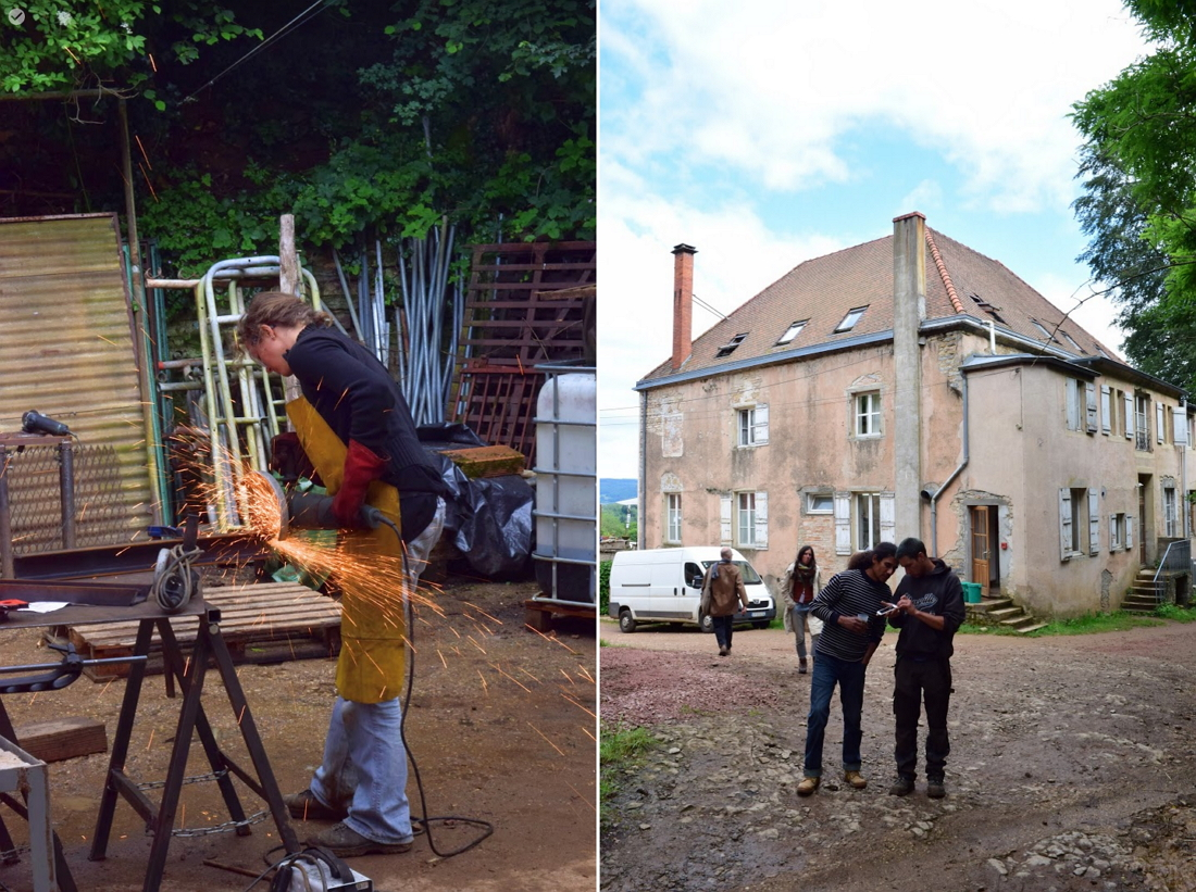 Julien Reynier and Fabrice Clerc from L'Atelier Paysan on self-build communities in farming