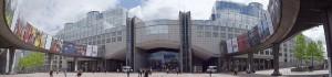 European Parliament exterior
