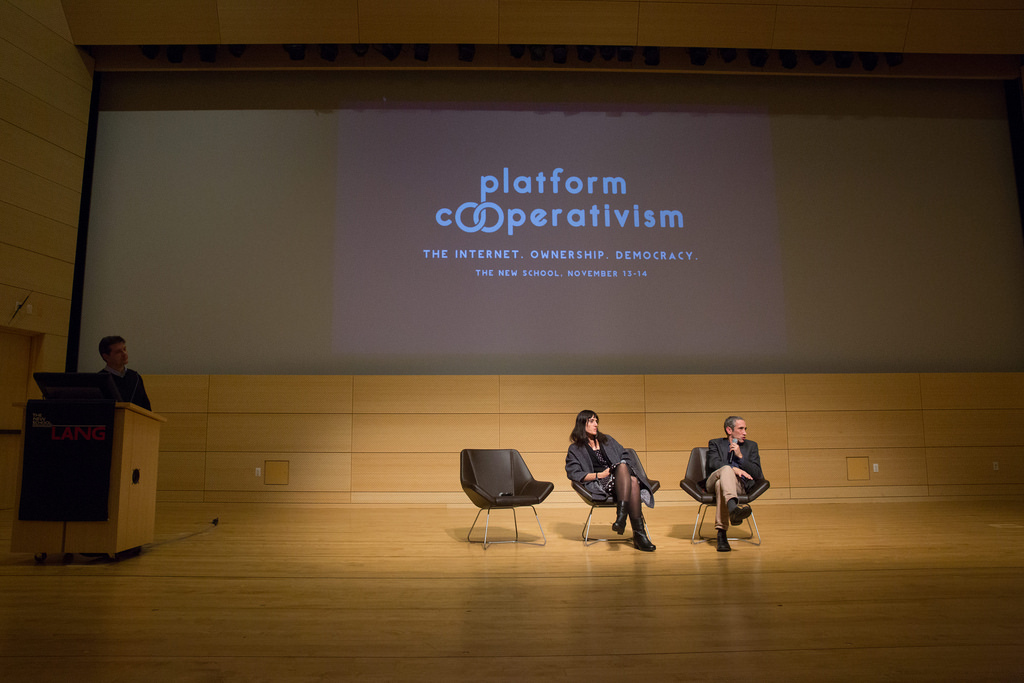 Trebor Scholz's New Report on Platform Cooperativism