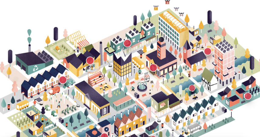 Nesta's 'ShareTown' interactive shows what a cooperative, tech-enabled economy might look like