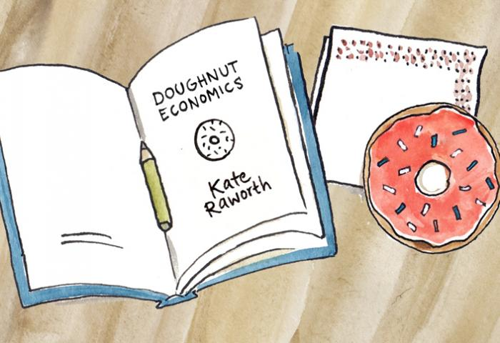 Doughnut economics: an economic model for the future