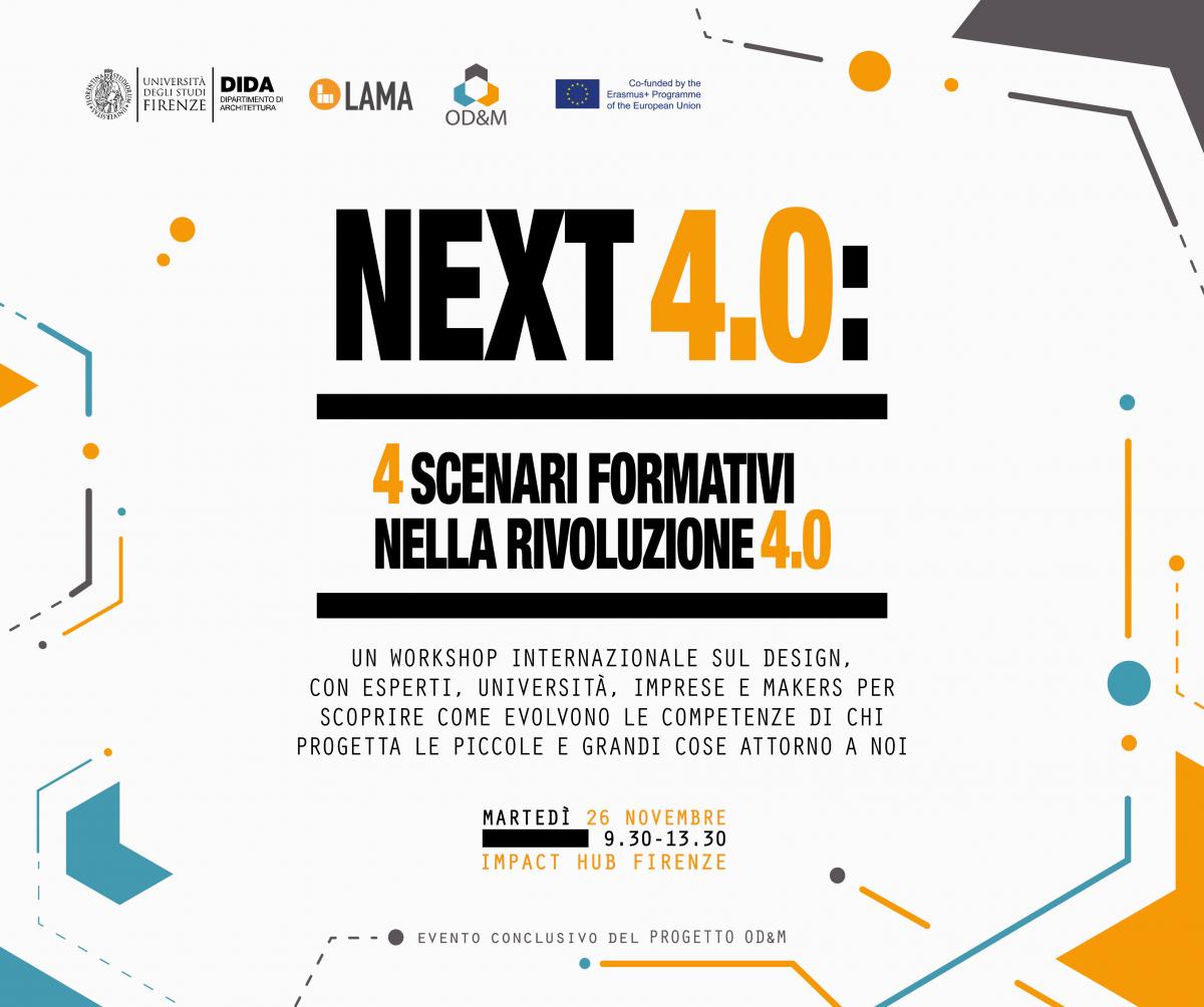 Next 4.0: Formative Scenarios for the 4.0 Revolution