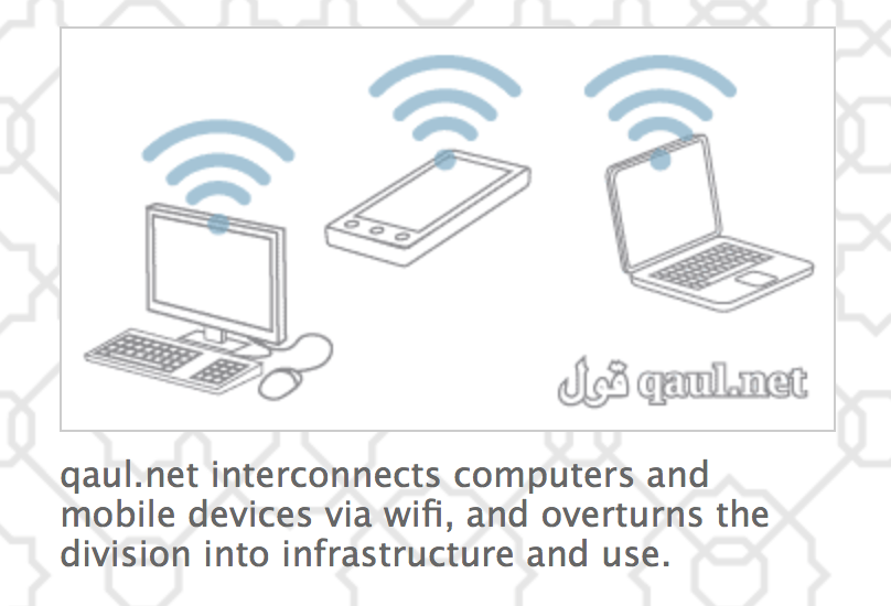 Qaul net beta – Automatic viral mesh networking between wifi enabled devices