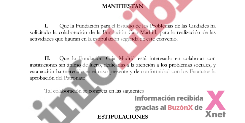 The looting of the Caja Madrid Foundation